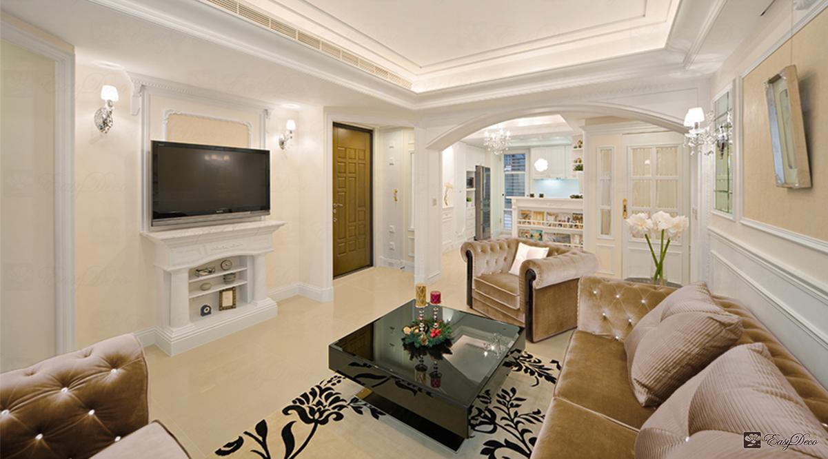 好宅變豪宅,好感UP,就從古典設計的客廳開始!